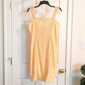 BNWOT Yellow Dress Size L